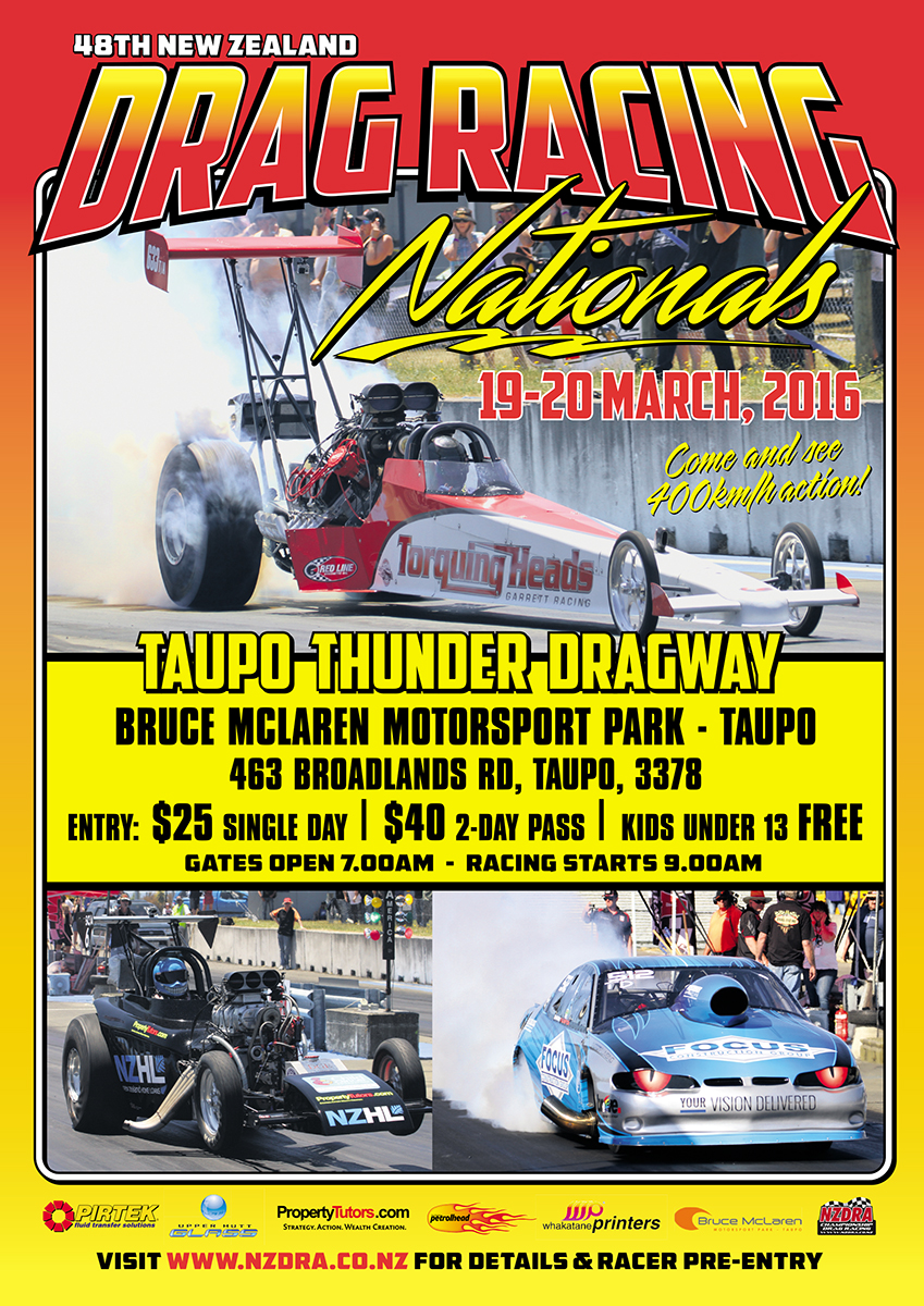 Taupo Drags poster